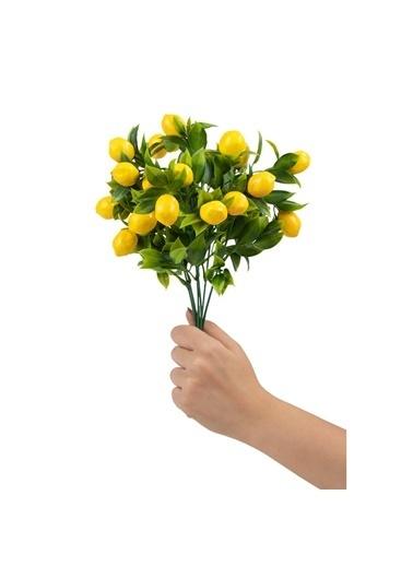 Çiçekmisin Limon Demet Yapay Bitki Renkli